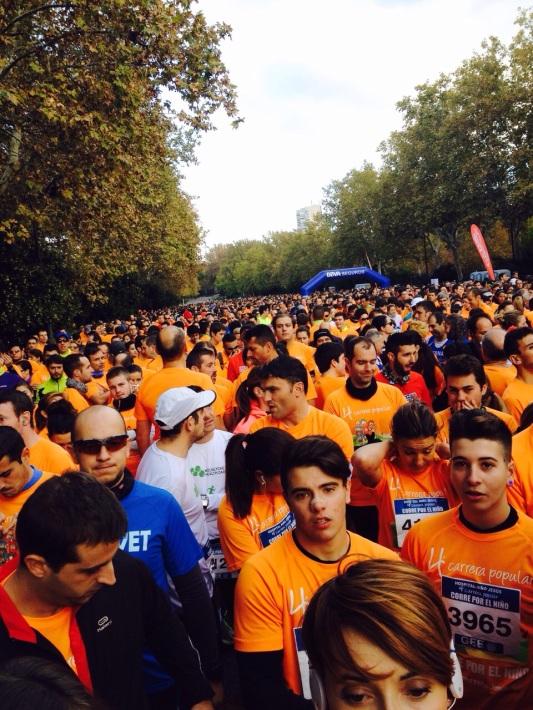 The perks of running - get a lovely orange t shirt...